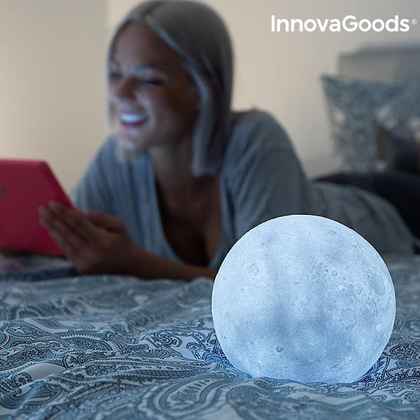Månlampa Moonlamp nattlampa