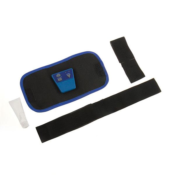 Bälte med EMS Elektrisk Muskelstimulator svart