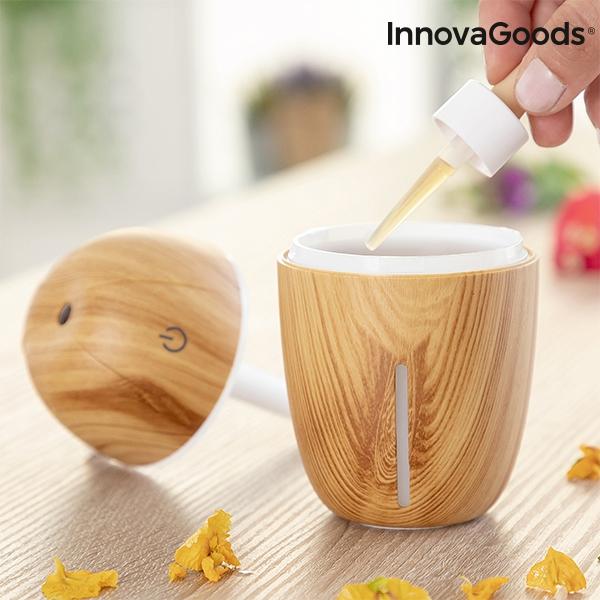 Mini Luftfuktare & Doftspridare fyll med doftolja