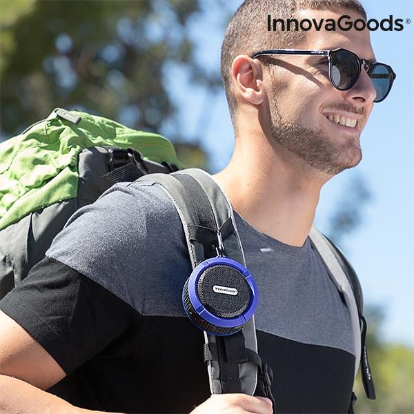Trådlös Vattentät Bluetooth Högtalare hänga på ryggsäck