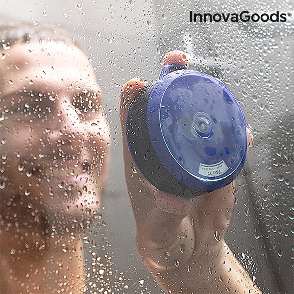 Vattentät högtalare för dusch