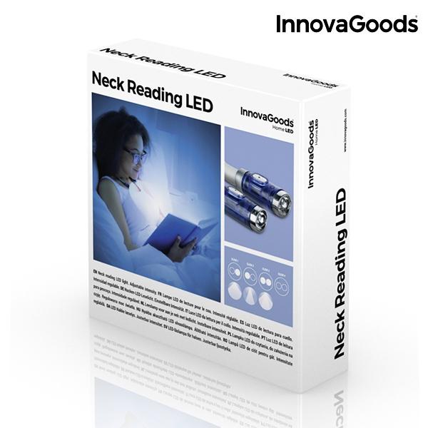 Flexibel Nacklampa Läslampa med LED