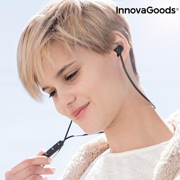 Magnetiska Trådlösa hörlurar med samtalsfunktion
