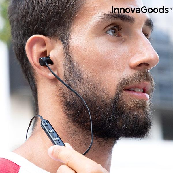 Magnetiska Trådlösa hörlurar med kontroll