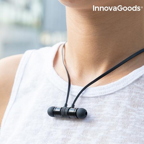 Magnetiska Trådlösa hörlurar med smart fäste