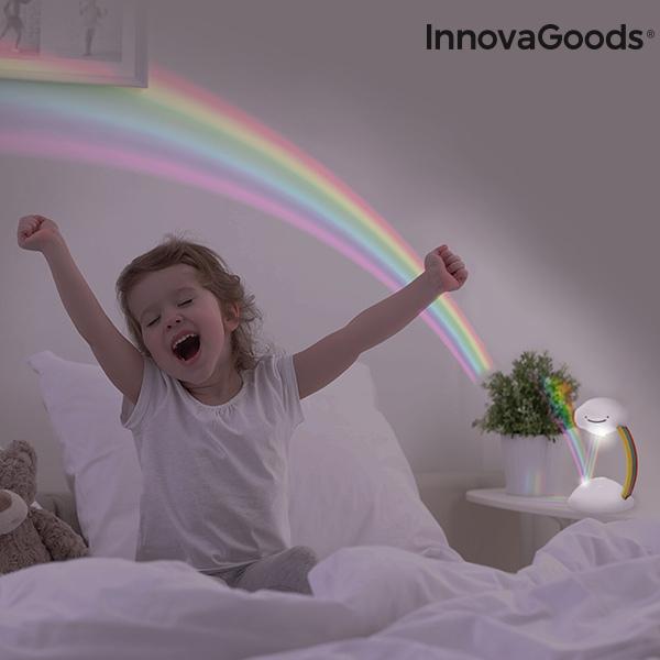 Regnbågsprojektor LED Nattlampa Libow