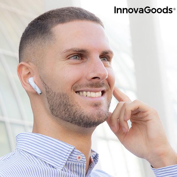 In-ear trådlösa hörlurar med bluetooth för man