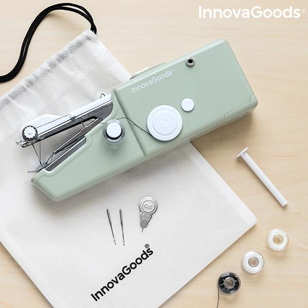 Batteridriven symaskin för resor
