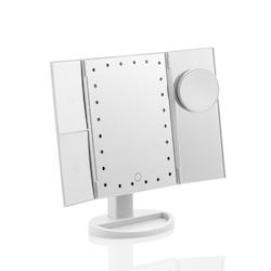 Sminkspegel 4 in 1 Med LED och Förstoring