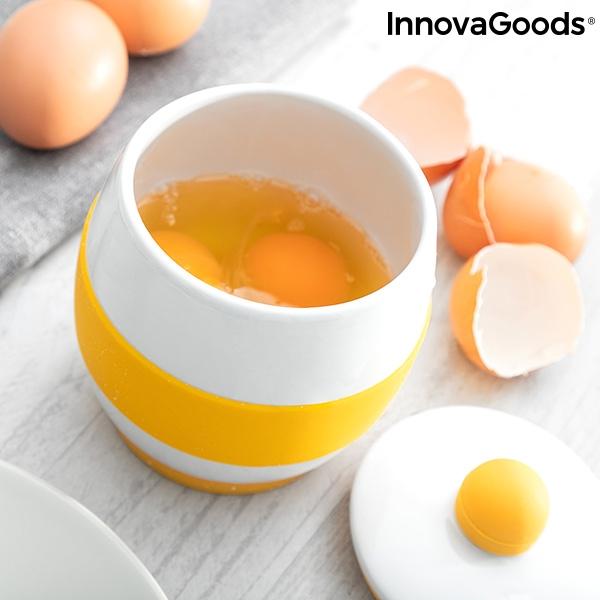 keramisk äggkopp stor för omelett