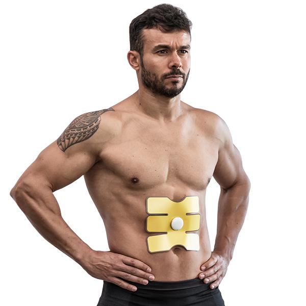 EMS magtränare unisex muskelstimulator