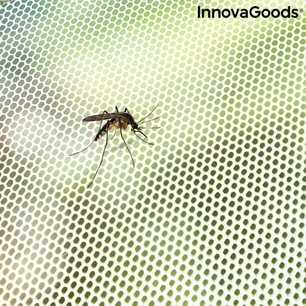 justerbart och självhäftande myggnät