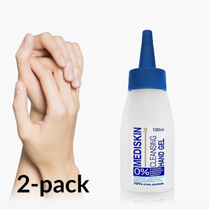 Desinfektionsgel för Händer 100 ml 2-pack