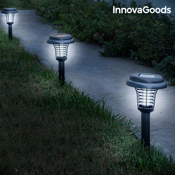 Mygglampa för trädgård solcell