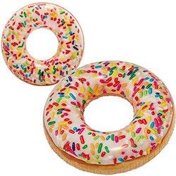 Uppblåsbar Badring Donut INTEX