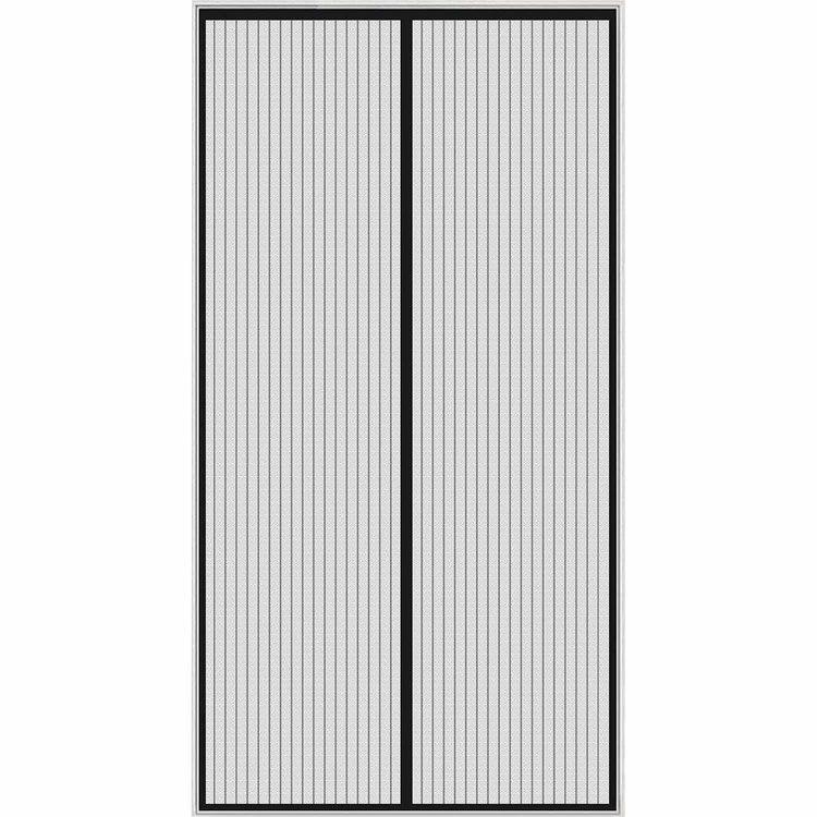 Myggnät för balkongdörr svart balkong, altan, trädgård, terass