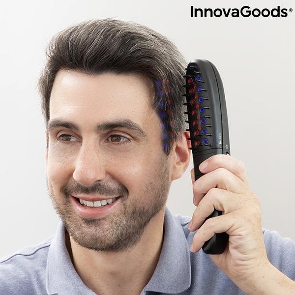 Elborste med laser mot håravfall för män