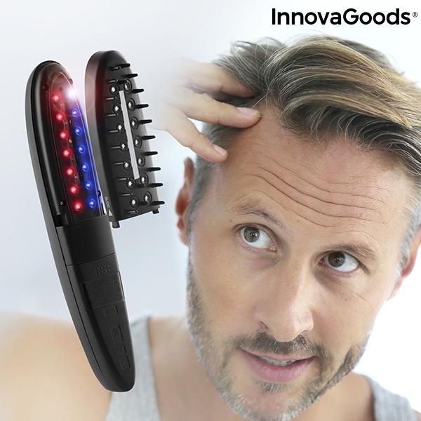 Elektrisk hårborste med laserteknik mot håravfall