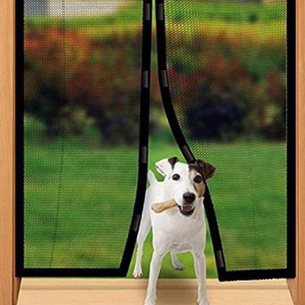 Magic Mesh insektsnät för dörrar hundvänligt