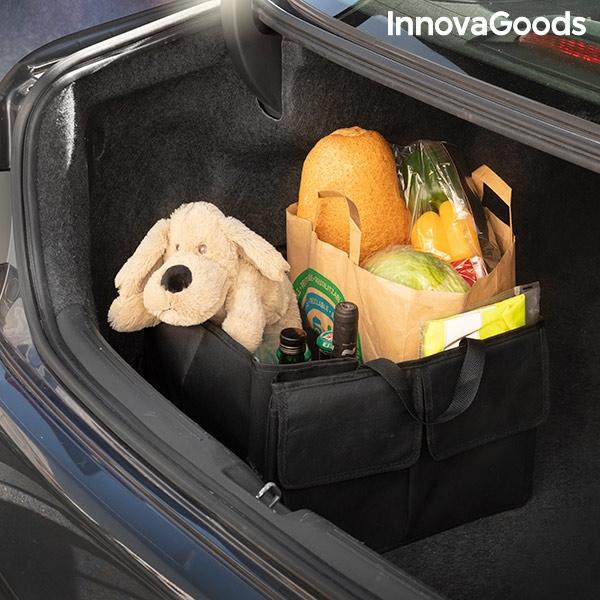Organisera i bilens baklucka bagagelucka