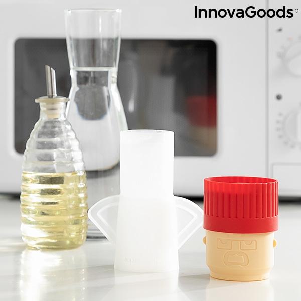 Rengöra mikrovågsugn med vinäger och vatten