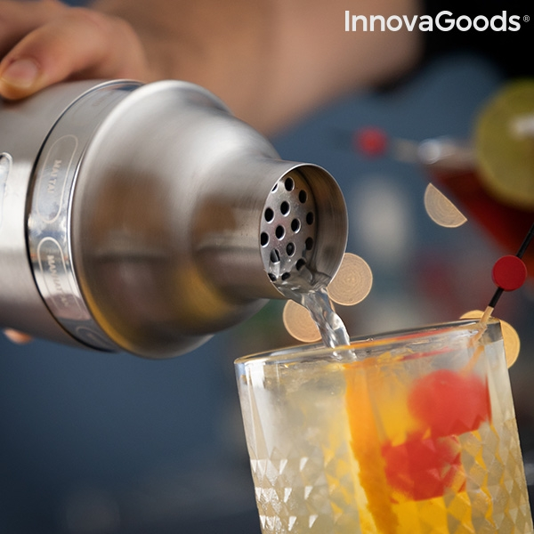 Gör drinkar och cocktails enkelt med denna shaker