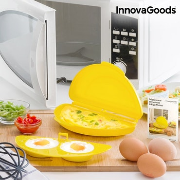 Silikonbehållare för Omelett i Mikrovågsugn