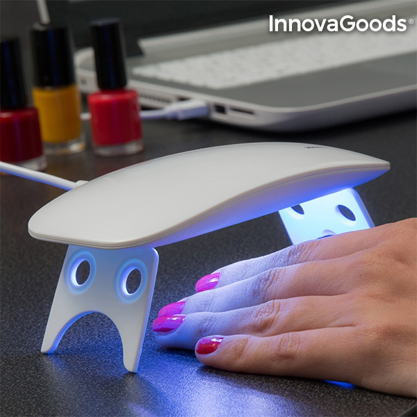 Mini LED UV Nagellampa