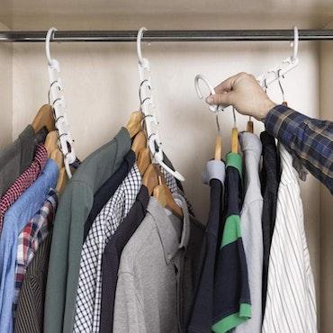 Multi-klädhängare Organizer för 40 plagg