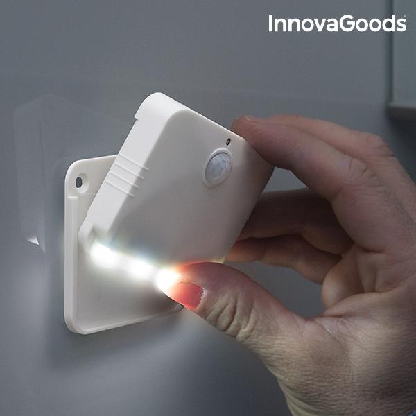 LED-lampa med Rörelsesensor som kan användas som bärbart ljus