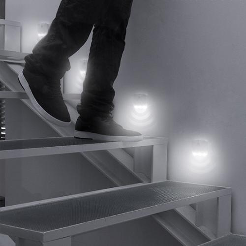 LED-lampa med Rörelsesensor för trappor