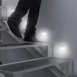 LED-lampa med Rörelsesensor 2-pack