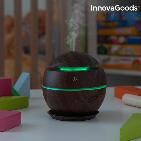 Mini Luftfuktare LED & Doft