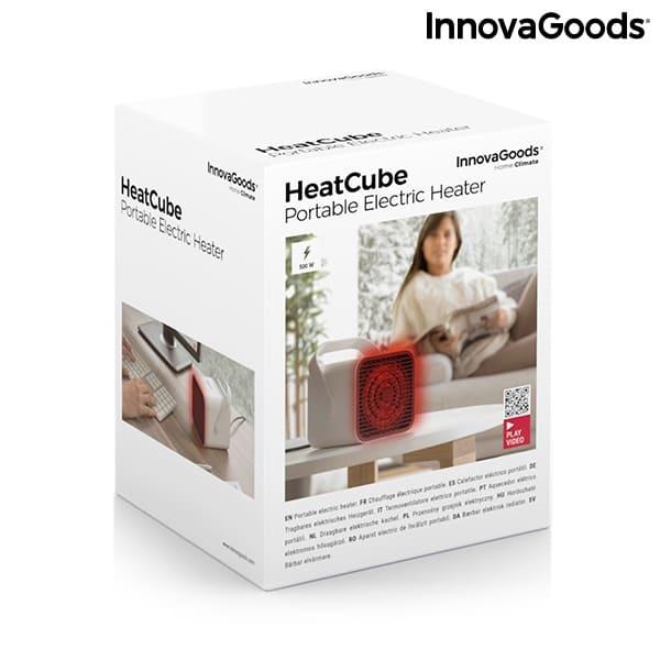 Bärbar Mini Luftvärmare Heatcube