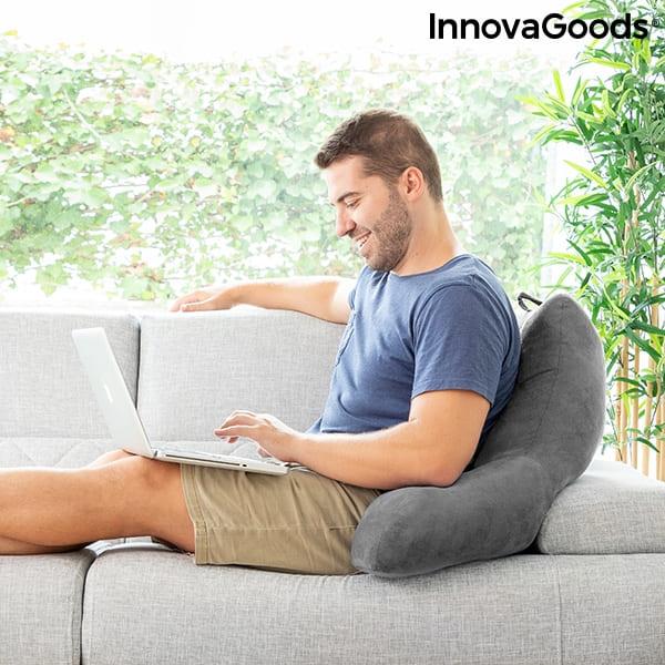 Arbetskudde med armstöd för soffan