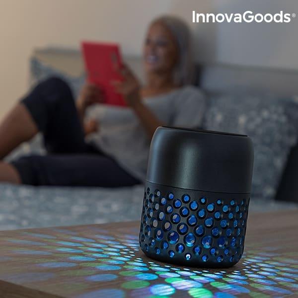 bluetooth högtalare med led-lampa