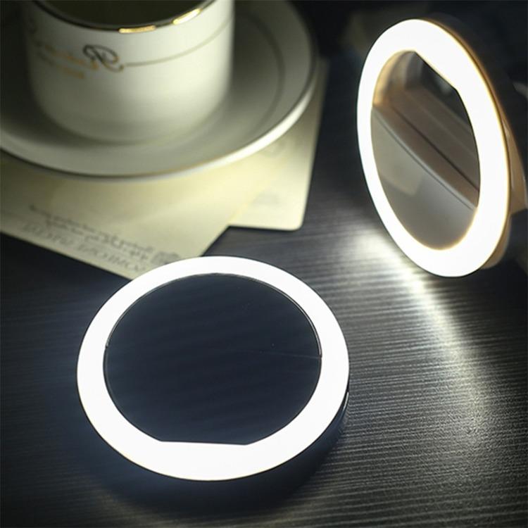 Portabel Selfie LED Light Ringljus för Mobil