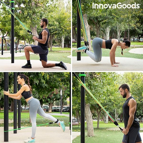 Träna utomhus med träningsband