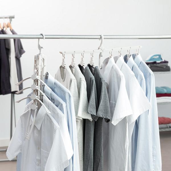 Smart Multi Klädhängare med 8 Galgar