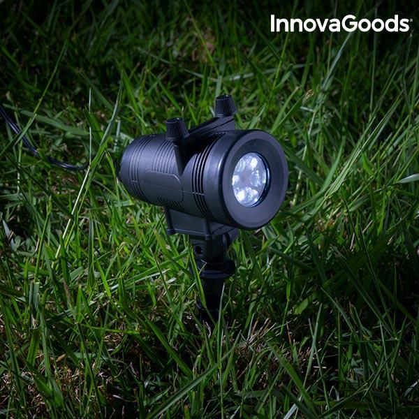 Projektorlampa LED belysning för utomhus husfasad
