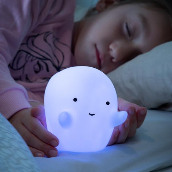 Nattlampa Spöke Multicolor LED Glowy
