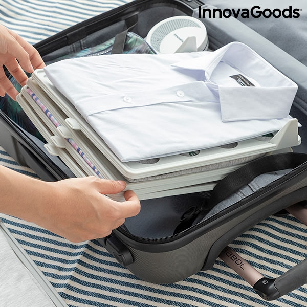 Packa kläder utan att de skrynklas i bagage