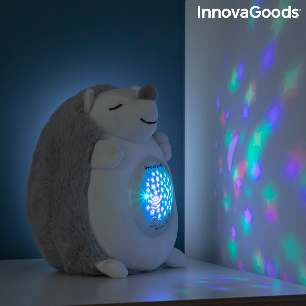 Nattlampa gosedjur med RGB LED nattbelysning