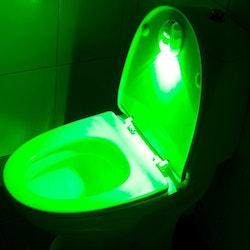Nattbelysning för Toalettstol