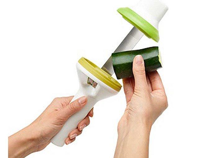 Handhållen Grönsaksstrimlare Spiralizer