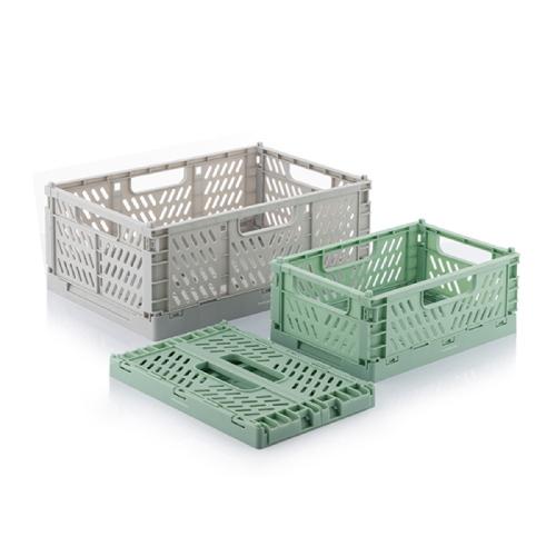 Plastbackar Förvaringslådor BOXTOR 3-pack