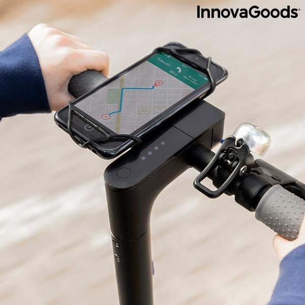 Mobilhållare som fästes på cykelstyre
