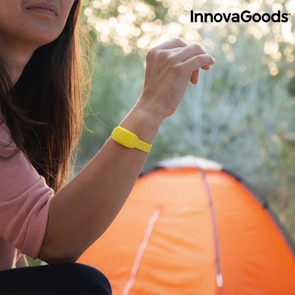 Myggarmband för camping