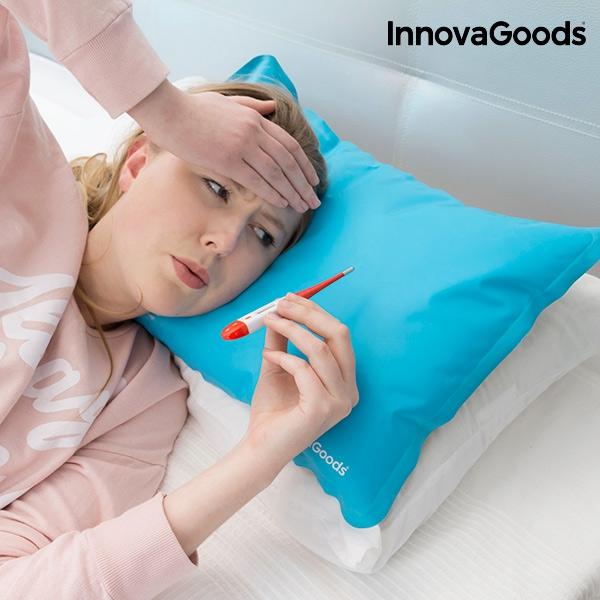 kylande kudde mot huvudvärk