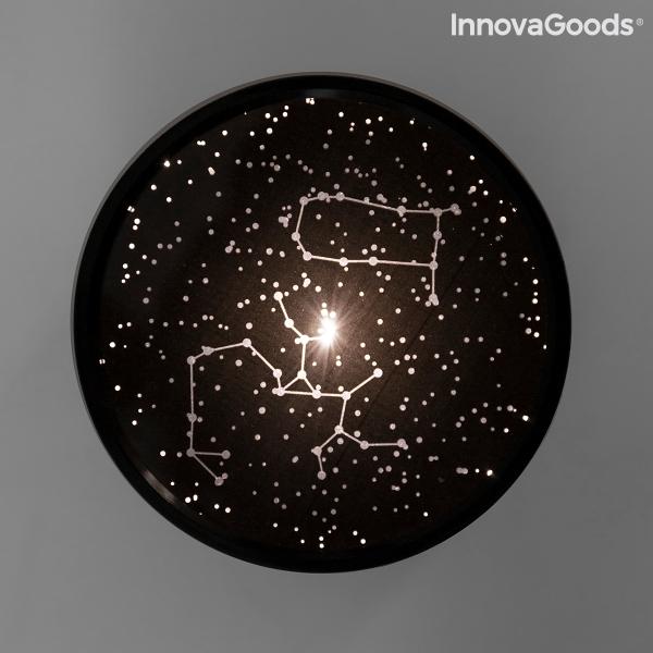 LED Stjärnprojektor Nattlampa Galaxy Star Projector